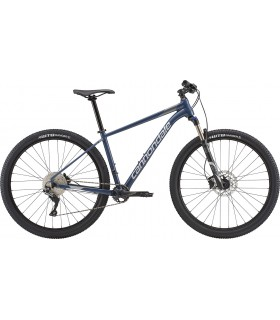 "Велосипед 27,5"" Cannondale TRAIL 4 рама - M 2018 SLA серо-синий"