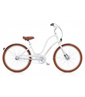 "Велосипед 26"" Electra Townie Balloon 3i EQ Ladies' White"