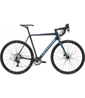 "Велосипед 28"" Cannondale SUPERX Apex 1 рама - 51 2018 SLA серо-синий"