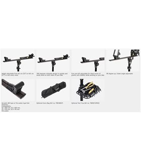 Шапка Ride 100% ESSENTIAL Beanie [Black/Grey], One Size