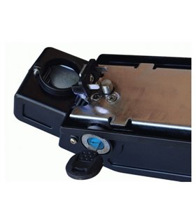Велосипед Bergamont Vitox 24 Light 2017 24&quot (2066) 31см cyan/neon yellow (matt)